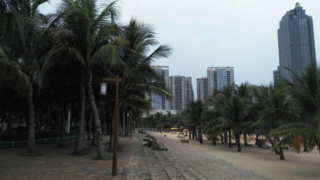 湛江的海湾